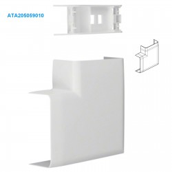 Angle Plat Tehalit ATA 20x50 HAGER ATA205059010 (Bte de 20)