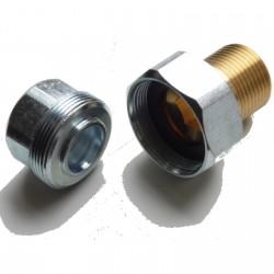 Raccord diélectrique isolant Ø 20/27 - 3/4' Ref 2246-20