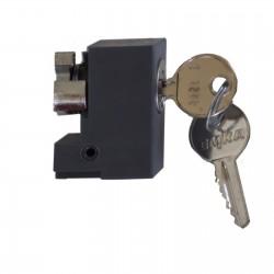 Insert serrure clé 1242E barillet cylindrique Spacial Schneider NSYIN1242E1