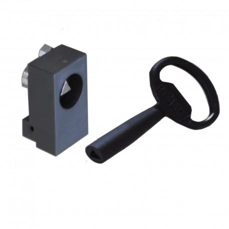 Insert triangle 6,5 mm pour poignée SAREL 63660 Schneider NSYINT61