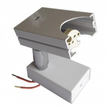 SPOT SUR PATERE POUR LAMPE 12V-20W ARIC 4501 (LOT DE 3)