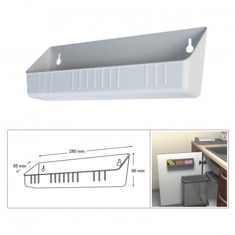 Bac plastique blanc sans séparateur MSA C5000