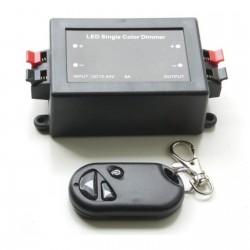 Télécommande gradateur sans fil pour ruban LED DC12-24V