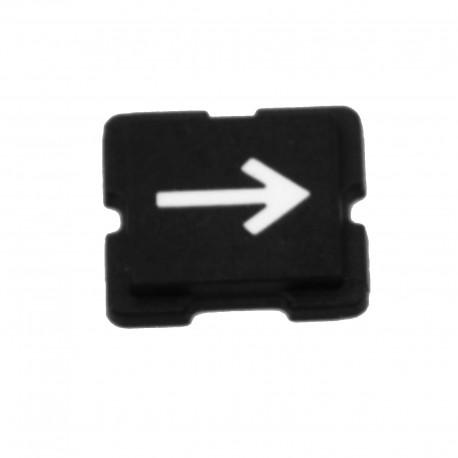 Etiquette bouton plat symbole divers XXXTQ18