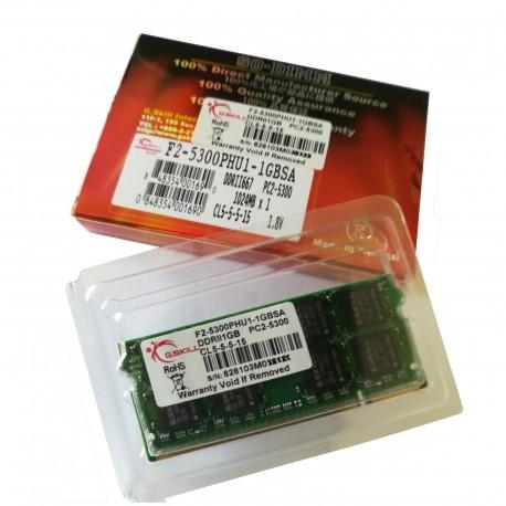 SO-DIMM DDR2 1GB PC2-5300 Barrette mémoire